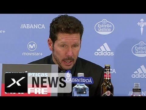 Diego Simeone lobt seinen Ex-Stürmer Mario Mandzukic | Celta Vigo - Atletico Madrid 0:2
