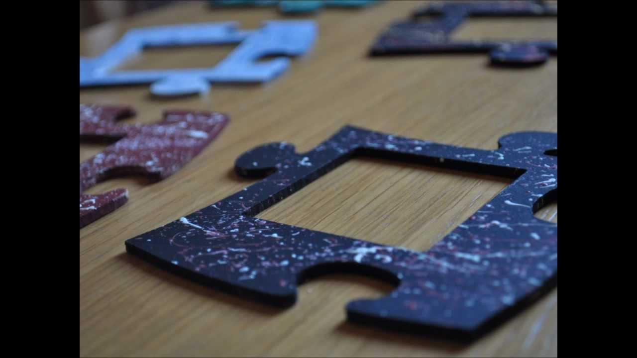 Puzzlerahmen von www.Hobbyprodukte.de - YouTube