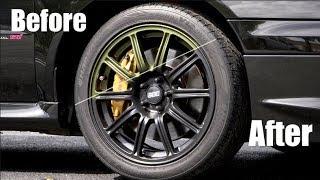Want Black Wheels?  Ultimate DIY Guide