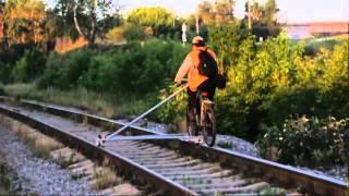 Велодрезина из досок и пластиковых труб(, 2012-04-11T08:54:16.000Z)
