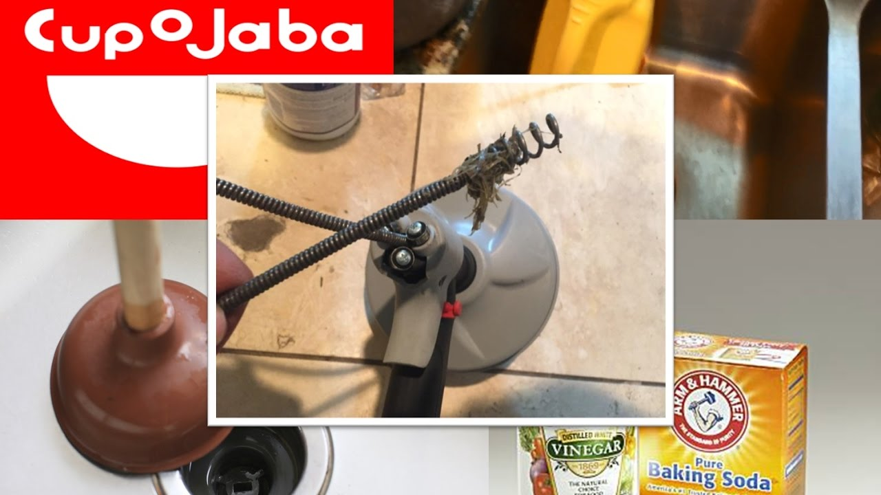 how to unclog a kitchen sink unclog kitchen sink easiest way to unclog a kitchen sink plunger baking soda u vinegar how to auger double clog
