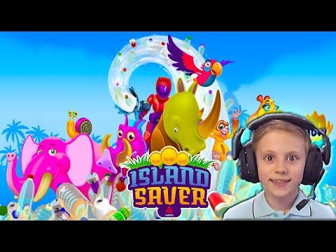 СПАСАТЕЛИ ОСТРОВОВ - Island Saver. Бесплатная приключенческая игра для PC, PlayStation, Xbox One.