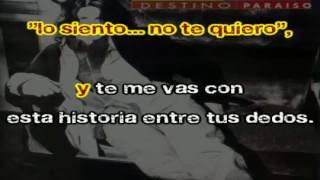 Gianluca Grignani Mi Historia Entre Tus Dedos Karaoke