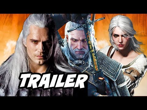 The Witcher Netflix Trailer - First Look Characters Breakdown thumbnail