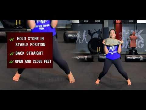 Krav Maga Training || Chest Press || Cardio WorkOut || Stamina Increase || Exercise