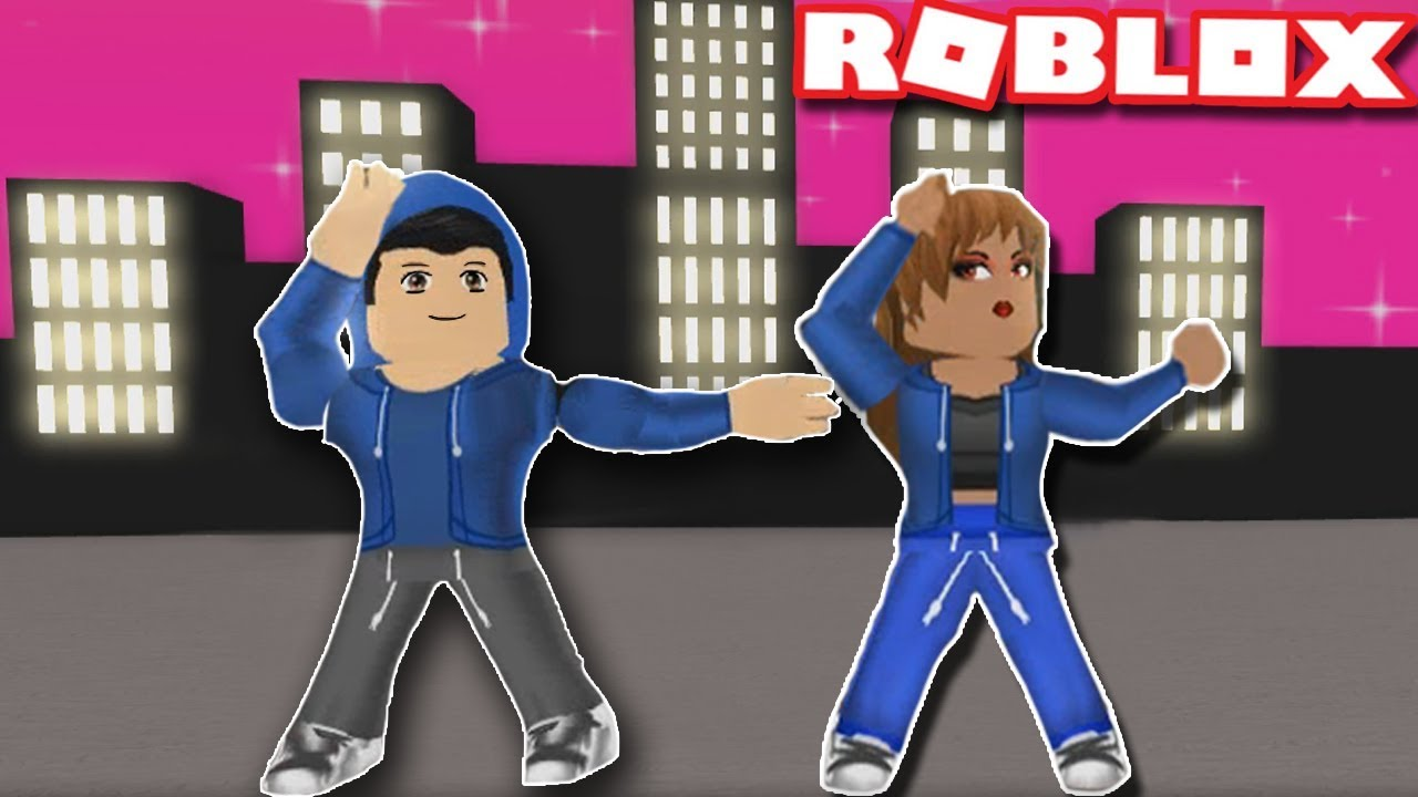 DANCE YOUR BLOX OFF HIP HOP DUO ROUTINE in Roblox   Hip hop Freestyle    Funny Moments