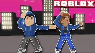 DANCE seu BLOX OFF HIP HOP DUO rotina em Roblox | Hip hop Freestyle | Momentos engraçados