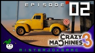 Crazy Machines 3 Gameplay - 02 - Playing with Gears and Balloons