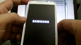 Flashear recovery galaxy s4 i9500