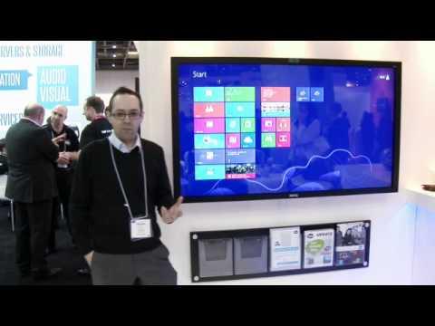 "BenQ T650 65"" interactive flat panel display"