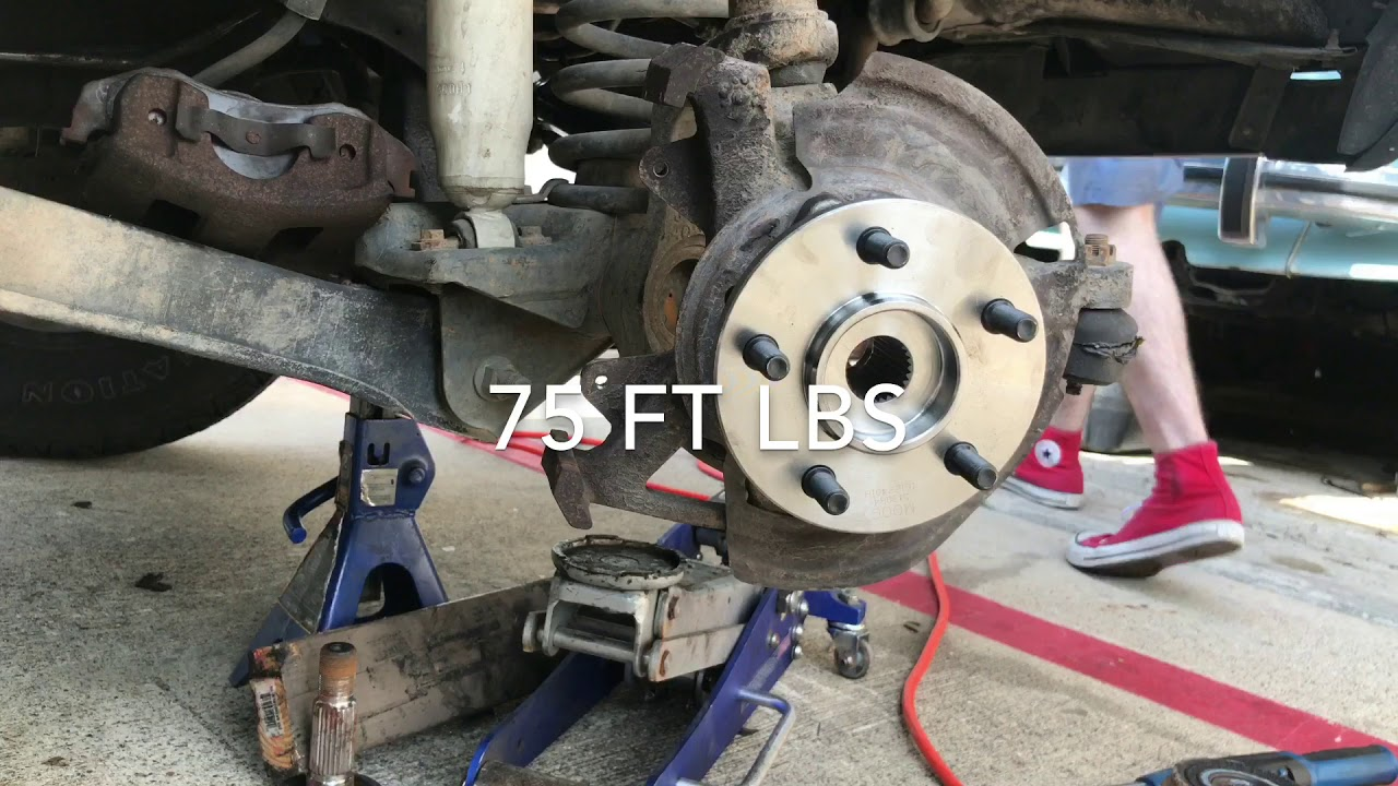 1989 1999 Jeep Cherokee Xj Front Wheel Hub Replacement