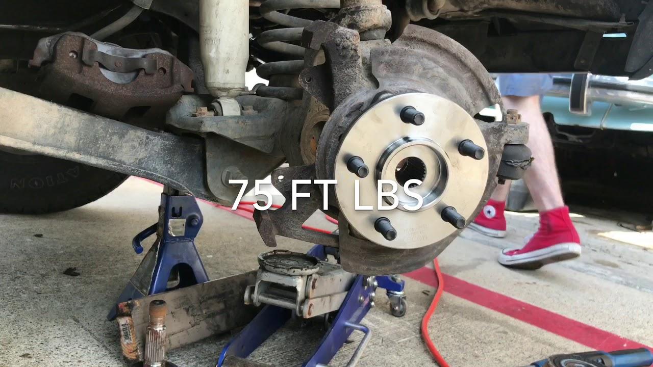 1989 1999 jeep cherokee xj front wheel hub replacement [ 1280 x 720 Pixel ]
