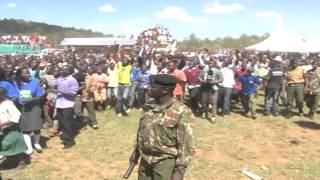 Rais Kenyatta Apata Wakati Mgumu Migori thumbnail