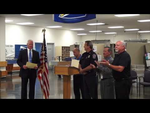 RICHMOND POST OFFICE AWARDS CEREMONY (07-24-2014)