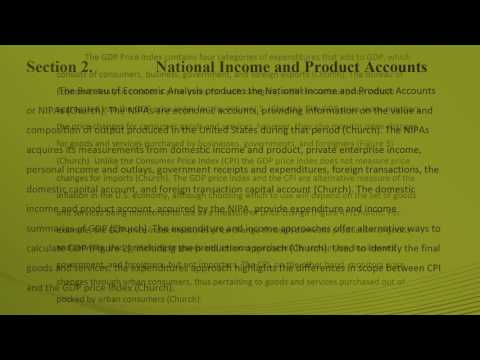 Microeconomics Term Report Bureau of Economic Analysis