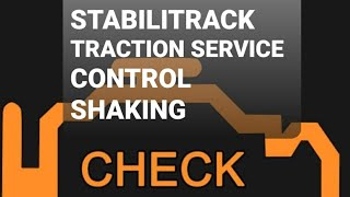 #stabilitrak #traction service control #check engine light #shaking easy fix