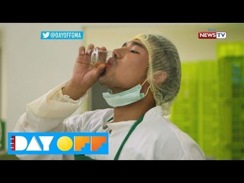 Day Off: Ken Chan, napainom ng tatlong shots ng suka!