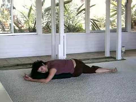 Lulu Bandha's Yoga Kira Ryder - Restorative Spinal Twist