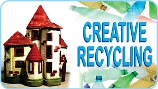 ❣Plastic Bottles Recycling Craft Idea - DIY Fairy House❣