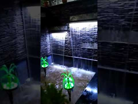 Lotus n cascade fountain project by Jain Garden Mart, Capital mall Bhopal