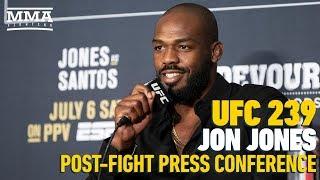 UFC 239: Jon Jones Post-Fight Press Conference – MMA Fighting