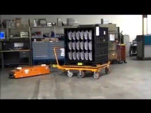 Savant 'Tape-Free' AGC -- Cart Towing