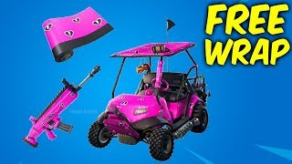 Fortnite free wrap. Share the love event - Cuddle hearts wrap