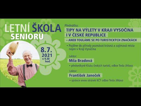 Letní škola seniorů 2021: Tipy na výlety v Kraji Vysočina i České republice