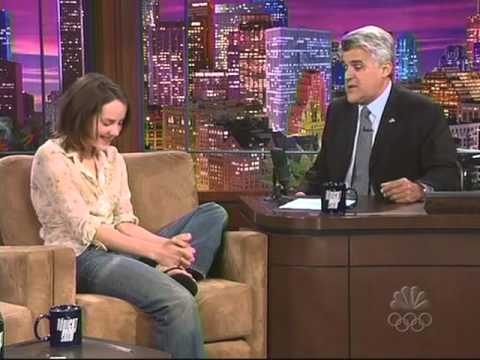 Jena Malone Interview Jay Leno