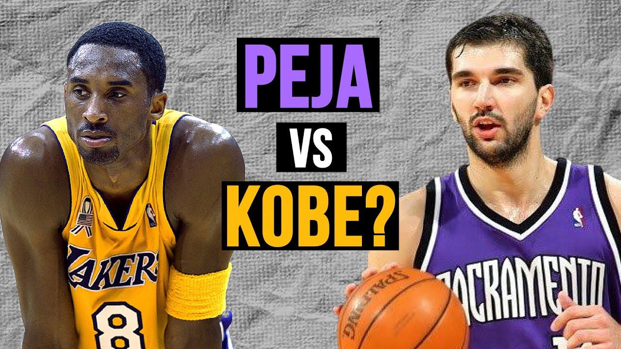 When Peja Stojakovic Was BETTER THAN Kobe Bryant