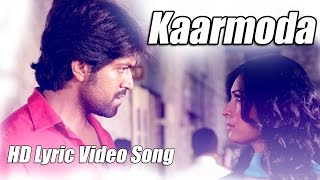 Mr & Mrs Ramachari - Kaarmoda Song Lyric Video | Yash | Radhika Pandit | V Harikrishna