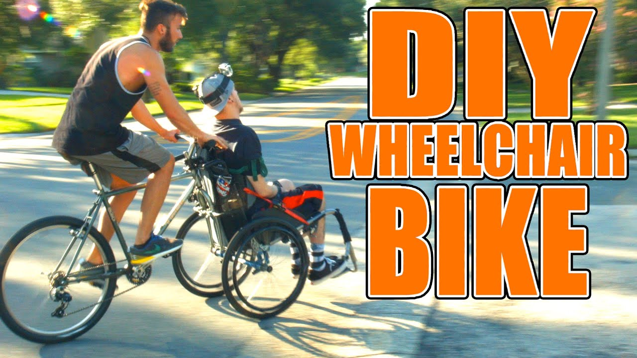 Electric bike adaption for wheel chair youtube - Electric Bike Adaption For Wheel Chair Youtube 0