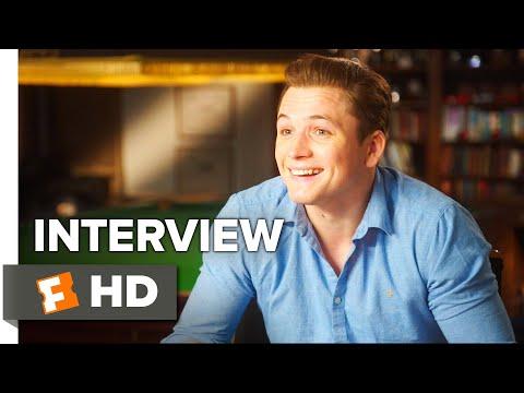 Kingsman: The Golden Circle Interview - Taron Egerton (2017) | Movieclips Coming Soon
