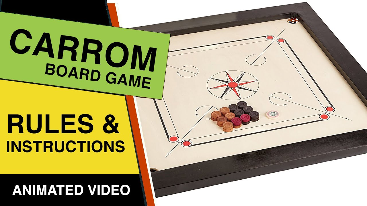 Carrom Board Game Rules & Instructions | Learn How To Play Carrom Game