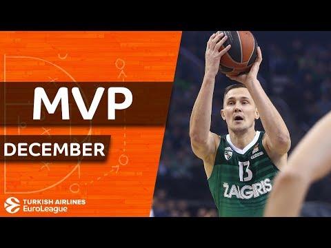 Turkish Airlines EuroLeague MVP for December: Paulius Jankunas, Zalgiris Kaunas