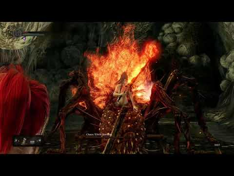 Dark Souls Remastered - SL1 Bow Only Chaos Witch Quelaag No Damage Taken