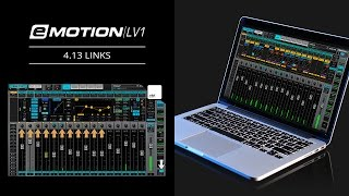 eMotion LV1 Tutorial 4.13: Mixer Window – Links