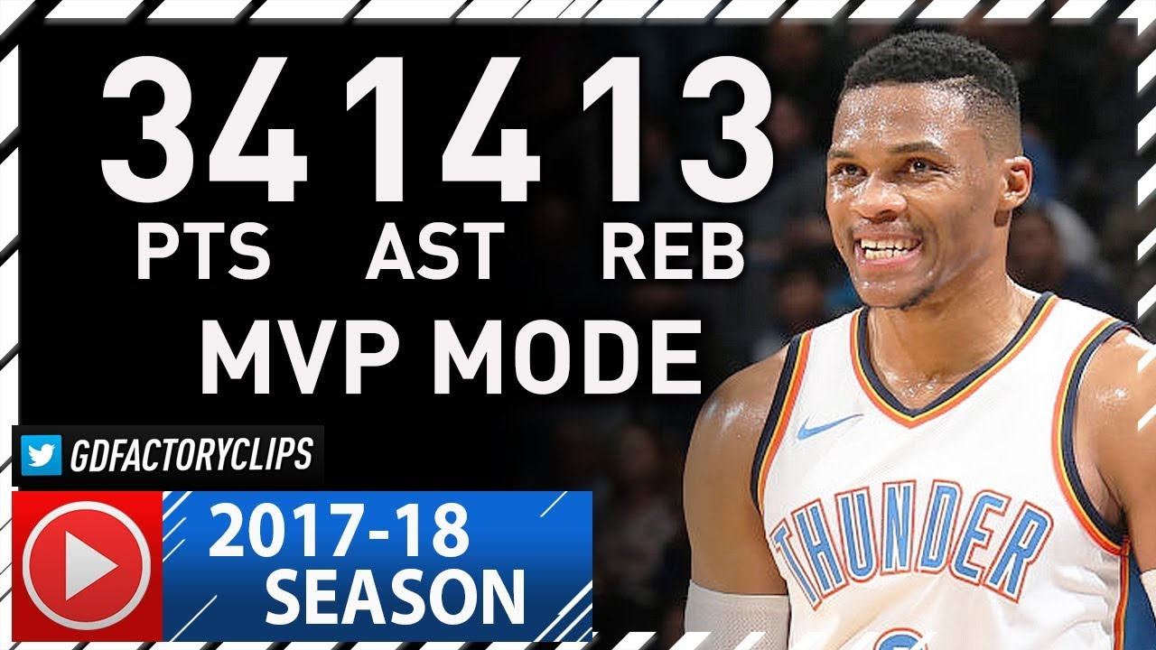 Russell Westbrook Triple-Double Full Highlights vs Jazz ...