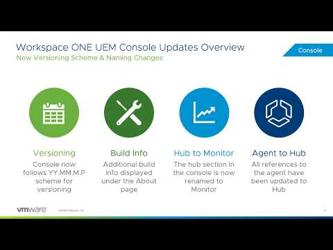 What's New in Workspace ONE UEM 1810