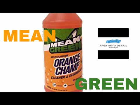 Mean Green Cleaner and Degreaser (Citrus)