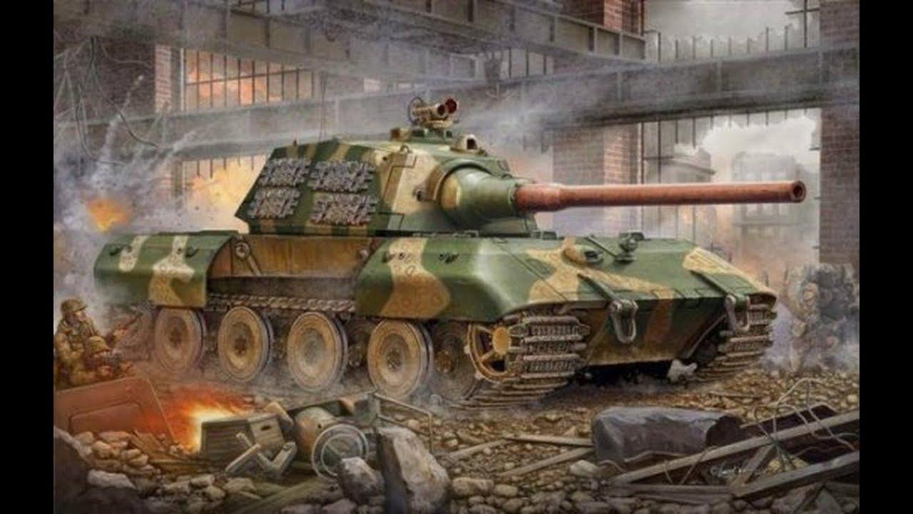 Download The King Tiger's Big Brother - E-100 Mega Tank