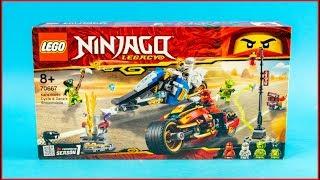 LEGO NINJAGO 70667 Kai's Blade Cycle & Zane's Snowmobile Construction Toy - UNBOXING