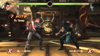 Mortal Kombat 9 - Kenshi обучение + комбо