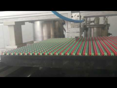 gluing machine for outdoor led display module