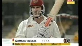Young SHOAIB AKHTAR vs Matthew Hayden 128 vs Pakistan 1999/00