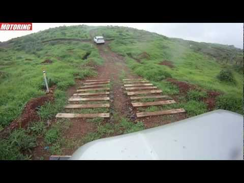 BSM Slush Fest 2012 - Mahindra Thar goes around our off-road course