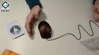 Мышь оптическая Defender Opera 880. Офисный планктон с 2000 DPI