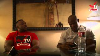 VNM-tv Ronnie Coleman Exclusive Interview Part 1 of 2