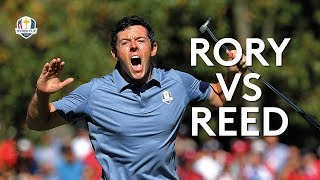 THE match at the 2016 Ryder Cup - McIlroy vs Reed