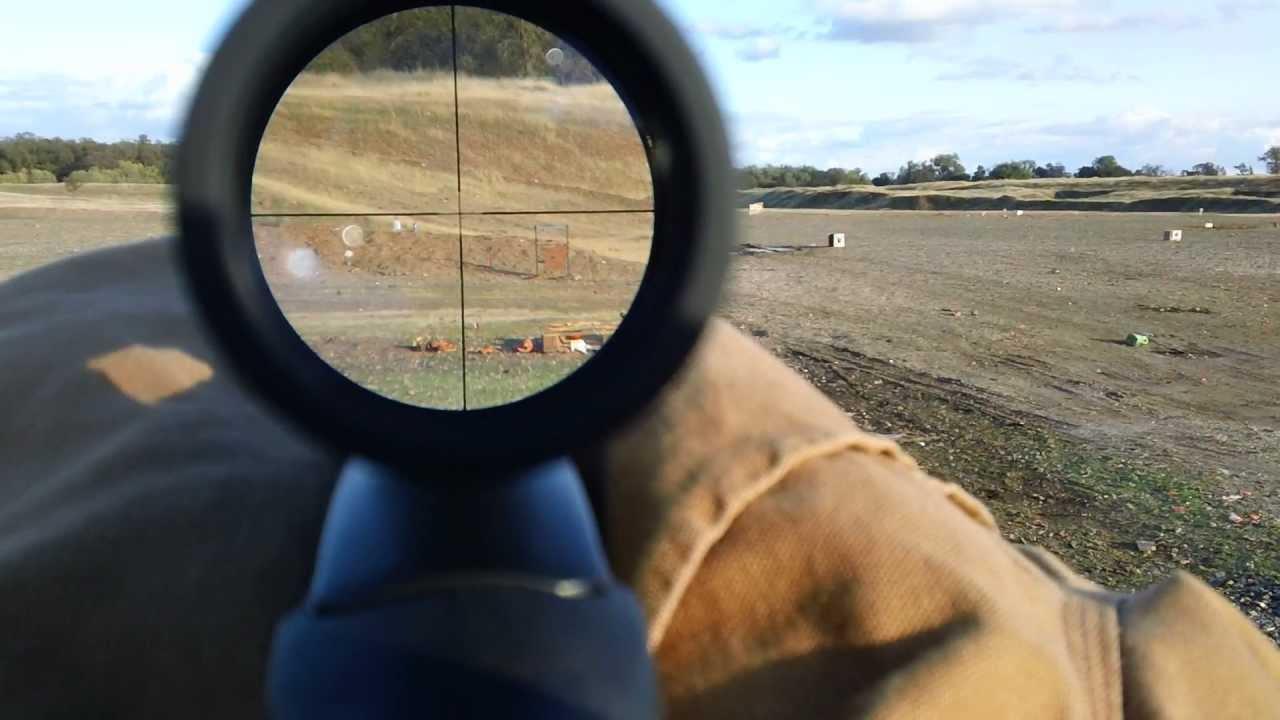 300 Yard Handi Rifle .45-70 Scope Cam Test...HD) - YouTube
